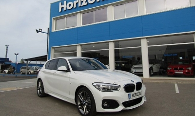 BMW Serie 1 118D  150cv Blanco