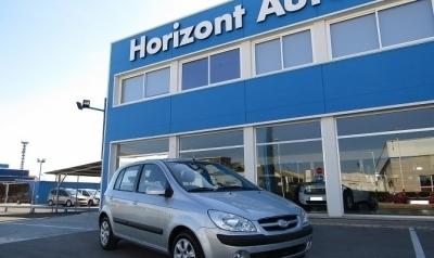 Hyundai Getz 1.1 AA 65cv Gris plata