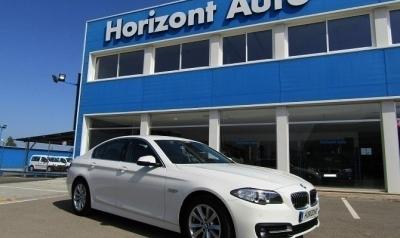 BMW Serie 5 518D 150cv Blanco