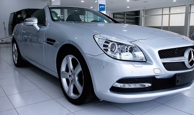 Mercedes-Benz SLK 200 K 1.8 184cv Gris plata