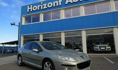 Peugeot 407 ST 2.0 HDI Confort 136cv Verde metalizado