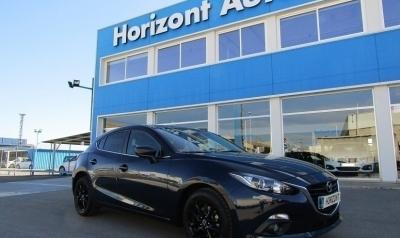 Mazda 3 1.5 DE Luxury 105cv Azul metalizado