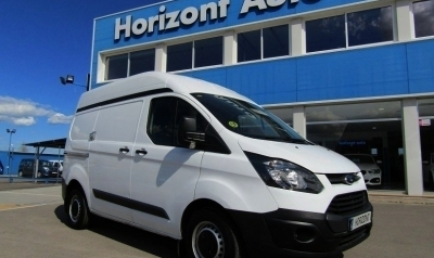 Ford Transit Custom 2.2D Van L1 250 ambiente 100cv Blanco