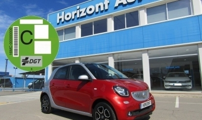 Smart Forfour 1.0i SS Passion 71cv Rojo metalizado