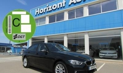 BMW Serie 3 318 2.0D 150cv Negro metalizado