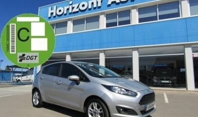 Ford Fiesta 1.2 Duratec Trend 82cv Gris plata