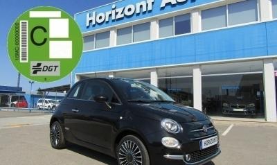 Fiat 500 1.2 Lounge 70cv Negro metalizado