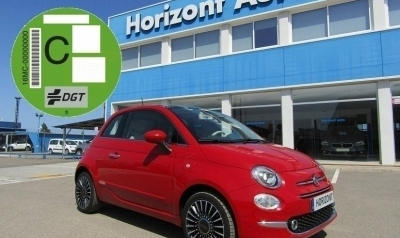 Fiat 500 1.2 Lounge 70cv Rojo metalizado