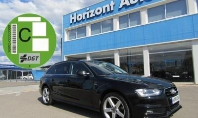 Audi A4 2.0 TDI Avant S-Line 150cv Negro metalizado