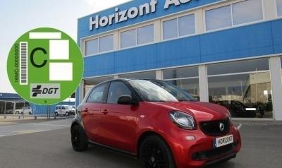 Smart Forfour Passion Automático 90cv Rojo metalizado