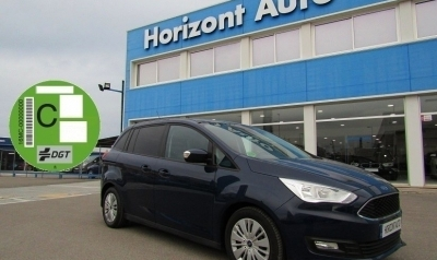 Ford Grand Cmax 1.5 Tdci Bussines 120cv Azul metalizado