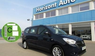 Dacia Lodgy 1.2i Laureate 7 plazas 115cv Azul metalizado