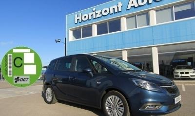 Opel Zafira 1.4T 7 plazas 140cv Azul metalizado
