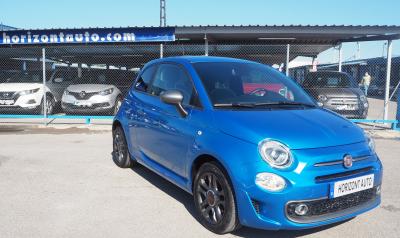 Fiat 500 S Serie7 1.2 69cv Reestyling 69cv Azul metalizado