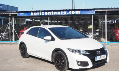 Honda Civic 1.6iDTEc Sport Navy 120cv 120cv Blanco