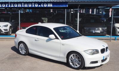 bmw 118D Coupe 140cv Blanco