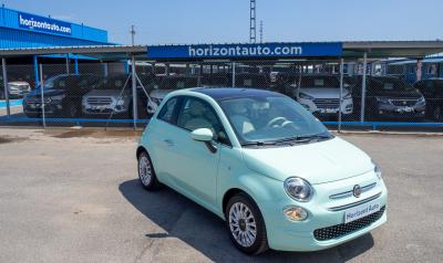 Fiat 500 1.2i Lounge 69cv Azul